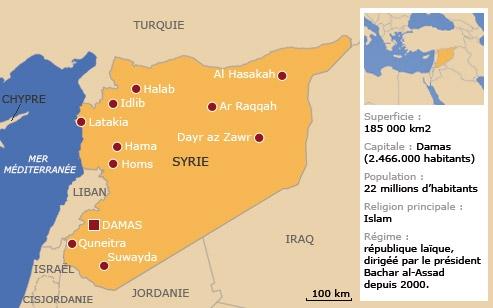 Le régime syrien et le parti Baas
