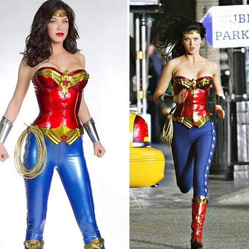 Pas de simili-cuir pour Wonder Woman