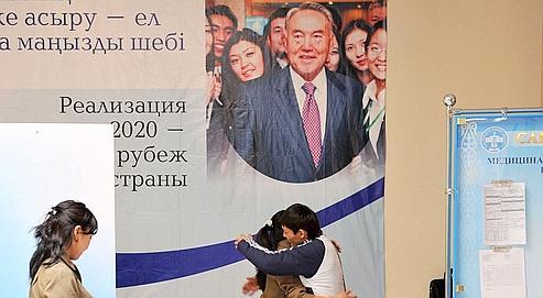 Kazakhstan : morne campagne pour un triomphe annoncé