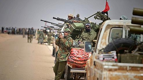Les rebelles libyens auraient repris Brega