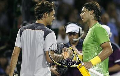 Nadal écoeure Federer