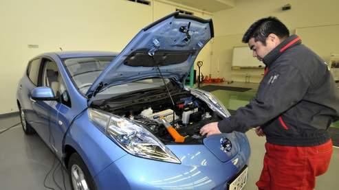 Nissan lance sa berline électrique en France