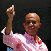 Le président-chanteur d'Haïti