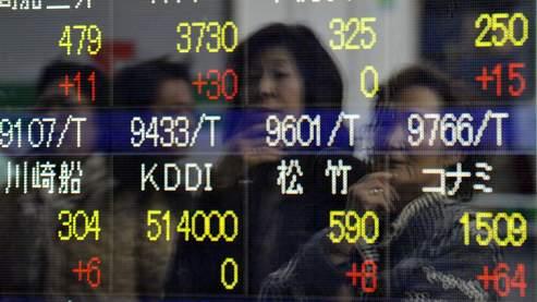 La Bourse de Tokyo dévisse