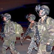 Le «coup de main» des soldats français