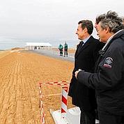 Coup d'envoi au canal Seine-Nord Europe