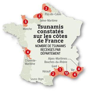 Depuis 1700, 34 tsunamis sur les côtes françaises