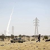 À Ajdabiya, l'Otan sauvent les rebelles