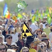 Manifestation contre la centrale de Fessenheim