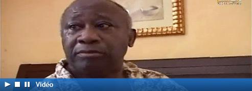 À l'hôtel du Golf, Laurent Gbagbo paraît abasourdi