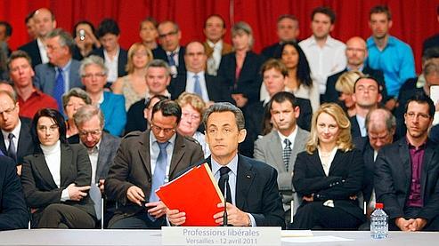 Sarkozy propose des mesures pour les professions libérales