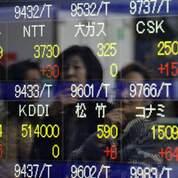 Les Bourses asiatiques en territoire négatif