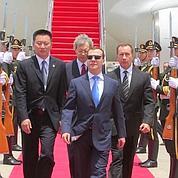 Medvedev pense tout hautà sa réélection