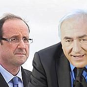 Primaires: DSK favori, Hollande en embuscade