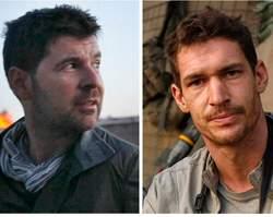 Tim Hetherington (à droite) et Chris Hondros (à gauche) ont été tués à Misrata.