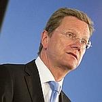 Guido Westerwelle, ministre allemand des Affaires étrangères.