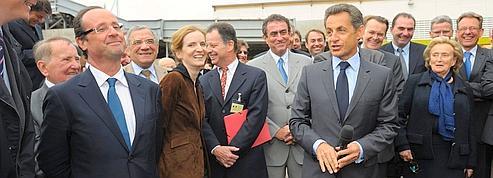 Corrèze : Sarkozy et Hollande font assaut de chiraquisme