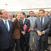 Sarkozy et Hollande sur les terres de Chirac