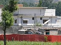 Le lieu supposé où se cachait Oussama Ben Laden