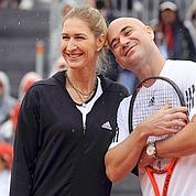 Graf et Agassi de retour le temps d'un match