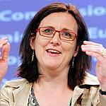 Cecilia Malmström, mercredi à Bruxelles.