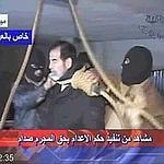 Images de la t�l�vision d'Etat en Irak.