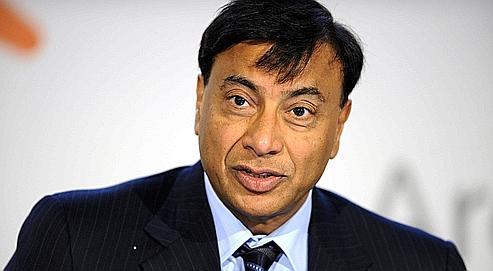 Le magnat de l'acier Lakshmi Mittal.