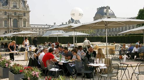 Les tables des Américains à Paris