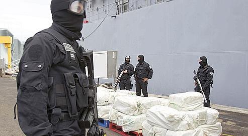 Saisie de drogue en Martinique en avril dernier.