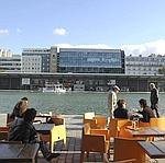 La terrasse du MK2 Quai de Loire