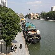 En vogue sur le canal de l'Ourcq