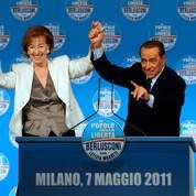Berlusconi joue son crédit national à Milan