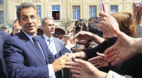 Sarkozy fait de l'assistanat un thème de 2012
