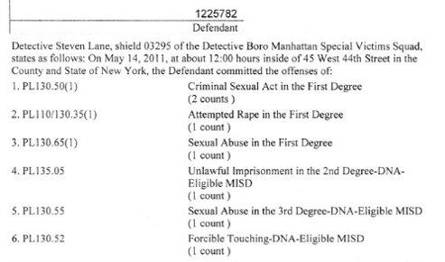 Extraits de l'acte d'accusation (DR)