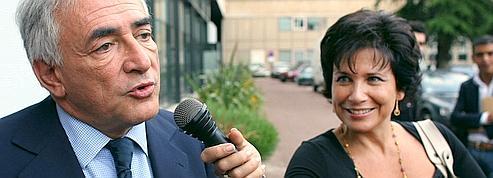 Anne Sinclair, l'indéfectible soutien de DSK<br/>