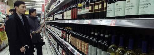 Le vin tire les exportations françaises en Chine