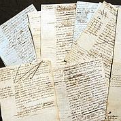 Robespierre : la France «sauve» ses manuscrits