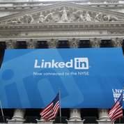 LinkedIn fait une entrée triomphale en Bourse