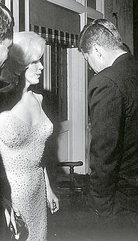 JFK et Marilyn.