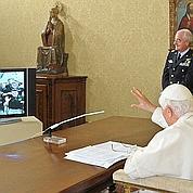 Le pape dialogue avec l'équipage de l'ISS