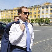 Medvedev contre les frappes en Libye