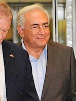 L'ancien directeur du FMI est sorti mercredi soir vers 19h30 heure locale de sa résidence temporaire au 71 Broadway escorté de deux «gorilles».