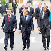 Sarkozy en maître des cérémoniesau G8