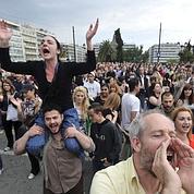 Le ras-le-bol des «indignés» à Athènes