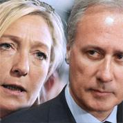 Le Pen attaque Georges Tron pour diffamation
