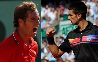Gasquet face à l'ogre Djokovic