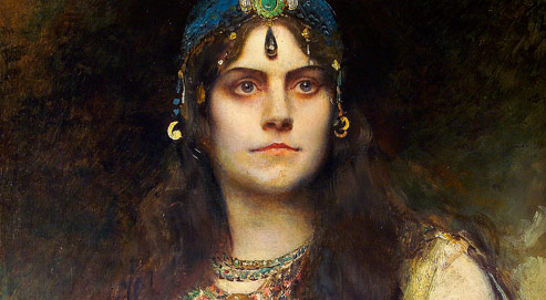 Portrait de Rose Caron.