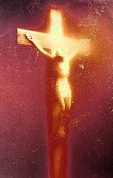 Immersion : Piss Christ, d' Andres Serrano, Collection Lambert. (Arnold Jerocki/ARTCOMART )