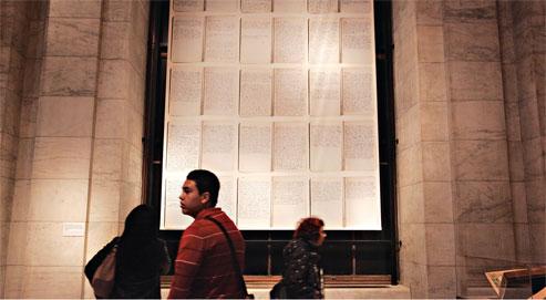 New York célèbre sa légendaire bibliothèque