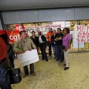 Carrefour touché par des grèves